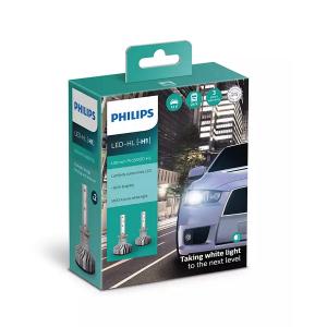 LED-ajovalopolttimot PHILIPS Ultinon Pro5000 HL +160%, H1