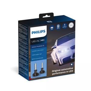 LED-ajovalopolttimot PHILIPS Ultinon Pro9000 HL +250%, H1
