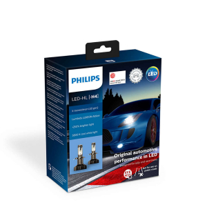 LED-ajovalopolttimot PHILIPS X-TremeUltinon gen2 +250%, H4