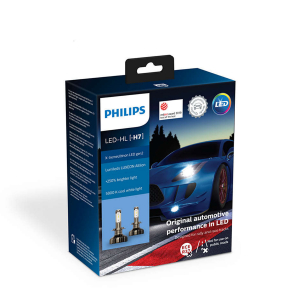 LED-ajovalopolttimot PHILIPS X-TremeUltinon gen2 +250%, H7