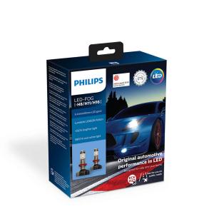 LED-sumuvalopolttimot PHILIPS X-TremeUltinon gen2 +250%, H8/H11/H16