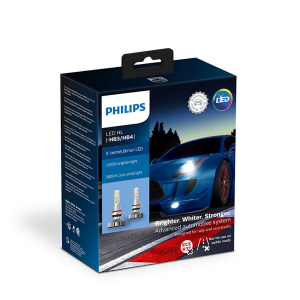 LED-ajovalopolttimot PHILIPS X-TremeUltinon +200%, HB3/HB4