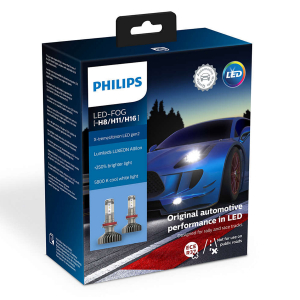 LED-konvertering PHILIPS X-TremeUltinon Gen2 +250%, H8/H11/H16
