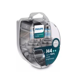 Halogeenipolttimo PHILIPS X-TremeVision Pro150, 150%, 60/55W, H4