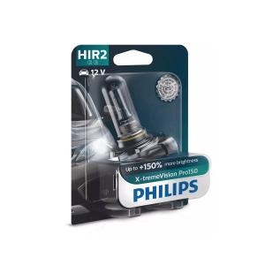Halogeenipolttimo PHILIPS X-TremeVision Pro150, 150%, 55W, HIR2