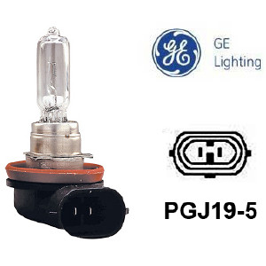 Halogeenipolttimo General Electric H9, 12V / 65W