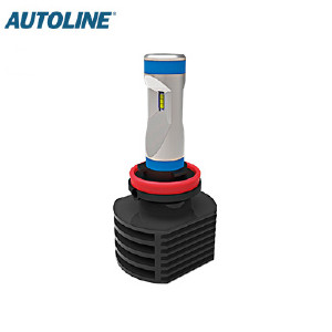 LED-ajovalopolttimo Autoline H11, 12-24V