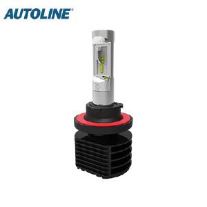 LED-ajovalopolttimo Autoline H13, 12-24V