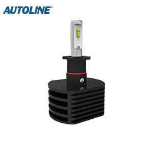 LED-ajovalopolttimo Autoline H3, 12-24V