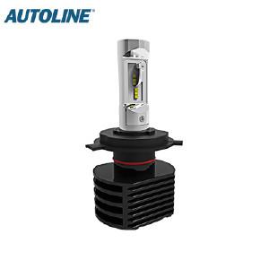 LED-ajovalopolttimo Autoline H4, 12-24V