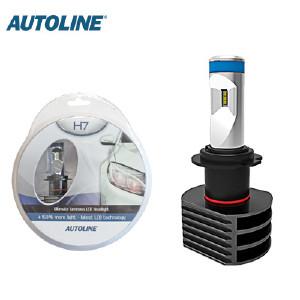 LED-ajovalopolttimo Autoline H7, 12-24V
