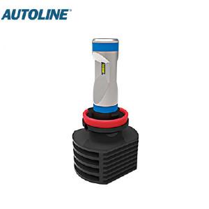 LED-ajovalopolttimo Autoline H9, 12-24V