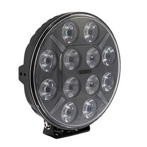 LED ekstralys Seeker 9SPOT - Rund / 22 cm / 120W / Ref. 50