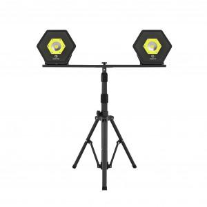 Stativ Unilite Tripod-DBL (för två lampor)