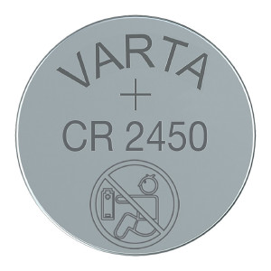 CR2450-batteri VARTA, 1 st