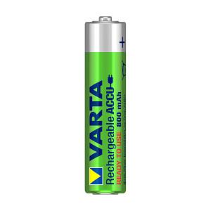 AAA-oppladbart batteri VARTA, 800 mAh, 4 stk