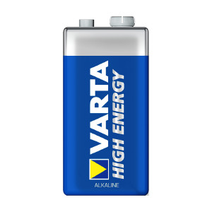 9V-paristo VARTA High Energy, 1 kpl