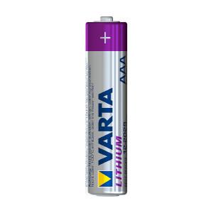 AAA-batteri VARTA Lithium, 4 stk