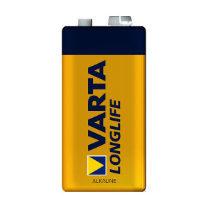 9V-batteri VARTA Long Life, 1 st