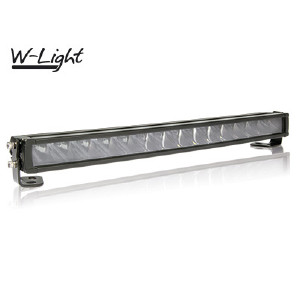 LED-ljusramp W-Light Wave - Kurvad / 53 cm / 105W