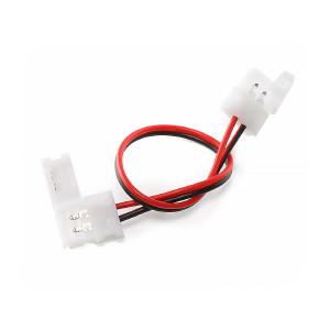 Skarvkabel för 2st LED-slingor, 8mm