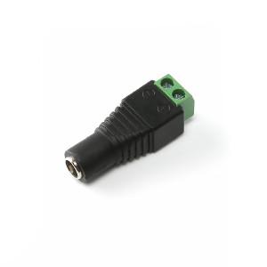 5,5mm DC-kontakt med skrue terminal, Hun