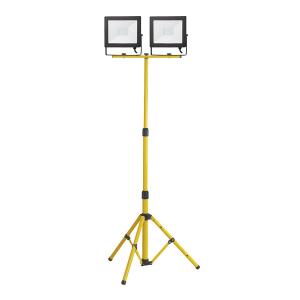 LED-arbeidslys, 230V, 2 x 50W