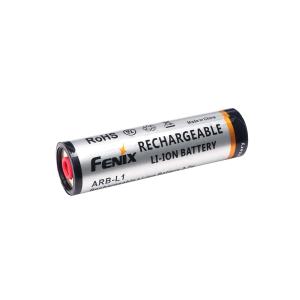 Custom 18650 Li-ion-batteri Fenix L1T, 2600 mAh