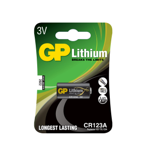 CR123A-batteri GP Lithium