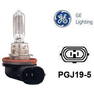 Halogenpære General Electric H9, 12V / 65W