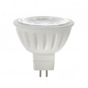 MR16 LED-Pære, Naturlight, 6W, Varmhvit, Smal