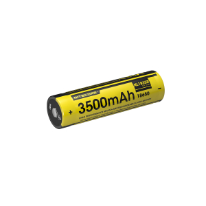 18650-batteri, Nitecore, Micro-USB-oppladbar, 3500 mAh