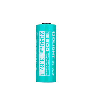 Custom 18500 Li-ion batteri Olight, 2040 mAh