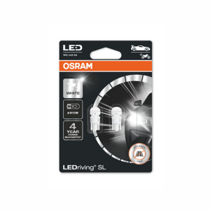 LED-pærer Osram LedDriving SL, 6000K, T10 (W5W)