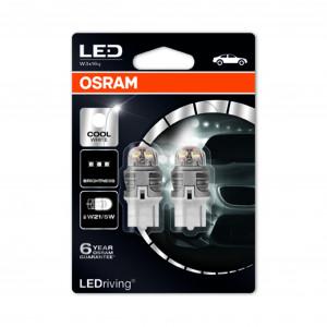 LED-pærer Osram PREMIUM, 6000K, T20 (W21/5W)