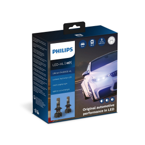 LED-pære PHILIPS Ultinon Pro9000 HL +250%, H7