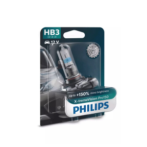 Halogenpære Philips X-TremeVision Pro150, 150%, 60W, HB3
