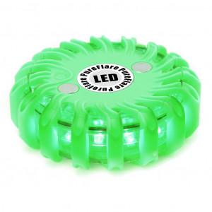 LED-lyspuck Pureflare, 16 LED Grønn