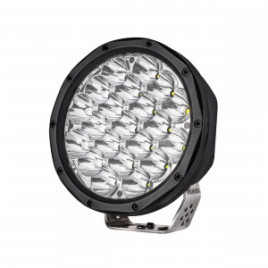 LED ekstralys Strands Hudson 7″ - Rund / 18 cm / 80W