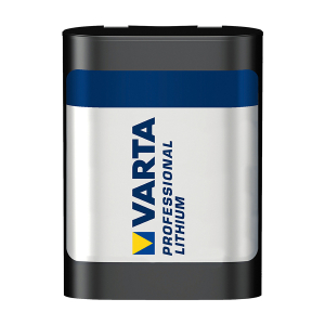 2CR5-batteri VARTA Professional Lithium, 1 stk.