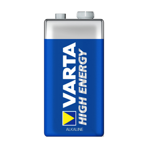 9V-batteri VARTA High Energy, 1 stk.
