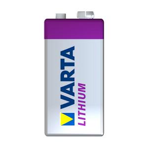 9V-batteri VARTA Lithium PRO, 1 stk.