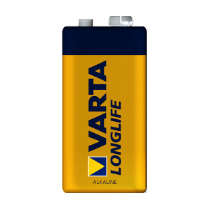 9V-batteri VARTA Long Life, 1 stk.