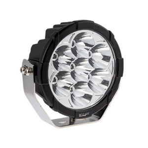 LED ekstralys W-Light Booster 7 - Rund / 18 cm / 70W