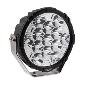LED ekstralys W-Light Booster 9 - Rund / 23 cm / 130W