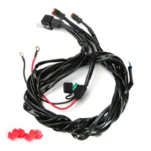 Reläkabelsats 12V Purelux Extraljus DT-kontakt (för 1-2 st lampor)