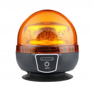 Laddbart Varningsljus / Blixtljus Strands, Orange (E-godkänd)