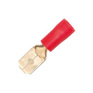 Flatstift Hane Röd 6,3 mm