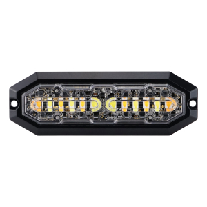 Blixtljus Strands DUO Orange/Vit 12LED 12-24V