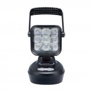 Laddbar Arbetslampa med Magnet, 18W